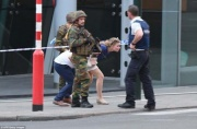 Belçikanın mərkəzi vağzalında kamikadze öldürülüb