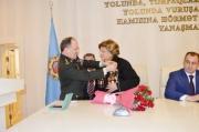 Böyük Vətən Müharibəsi veteranı Fatma Səttarovanın 95 illik yubileyi qeyd olunub
