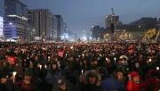 Cənubi Koreyada 250 min insan prezident əleyhinə mitinq keçirib