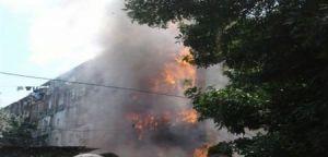 Əli Həsənov yanan yataqxanada: ilk açıqlama (YENİLƏNİB / VİDEO)