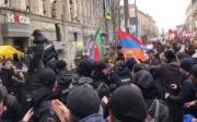 Moskvada ermənilərlə azərbaycanlılar arasında dava - VİDEO