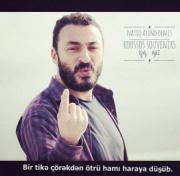 Natiq Axund Türkiyədə barda baş verən terrordan yazıb