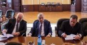 Natiq Əliyev Qazaxıstanın energetika naziri ilə görüşdü