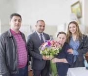 Nərimanov rayonun sakini Tura xanım Əliabbas qızının 100 yaşı tamam olur