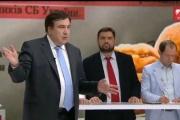 Saakaşvili canlı yayımda dava saldı: