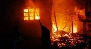 Şəmkirdə güclü yanğın - 1 nəfər öldü