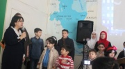 Siyasi məhbus övladları ataları üçün toplandı (FOTO,VİDEO)