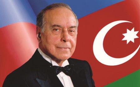 Heydər Əliyev Müasir Azərbaycan dövlətinin qurucusudur