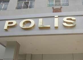 Bakıda polis binasında yanğın olub