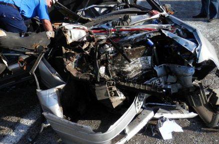 Göyçayda baş verən yol qəzasında 3 nəfər ölüb, 4 nəfər yaralanıb