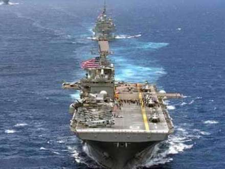 İran ABŞ gəmisinə atəş açdı