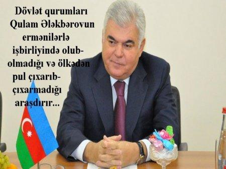 Ziya Məmmədovun ortağı ilə bağlı şok iddia: ermənilərlə iş birliyi?