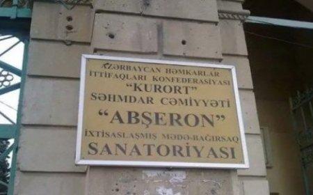 """""""Abşeron"""" sanatoriyasında rüsvayçılıq: konsert pulu yığılır"""