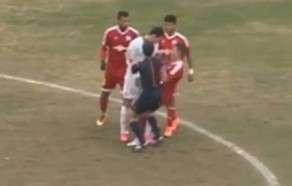 """Böyük oyun""da futbolçular arasında insident yaranıb"