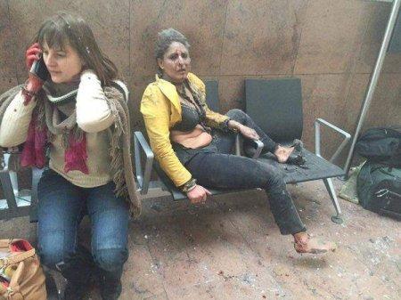 Brüsseldə terror aktı: 26 ölü, 90 yaralı FOTO VİDEO YENİLƏNİR