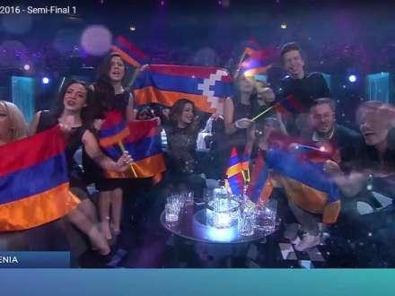 Ermənilərin 'Eurovision' təxribatı - Video sübut