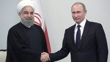 Bakıda Rusiya və İran prezidentlərinin görüşü olub