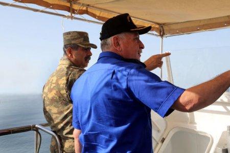 Hərbi Dəniz Qüvvələri irimiqyaslı təlimlərə başlayıb  – FOTO
