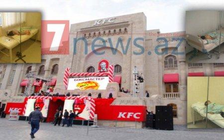 KFC restoranı 3 uşağı zəhərlədi - FOTOLAR