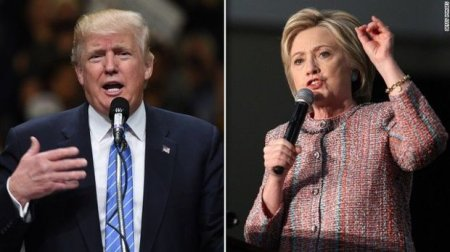 Tramp Klintonu 2% səs çoxluğu ilə geridə qoydu