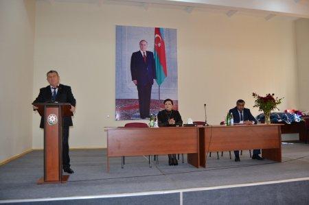 Bərdə rayonunda 5 oktyabr -Beynəlxalq Müəllim Gününə həsr edilmiş tədbir keçirilmişdir.