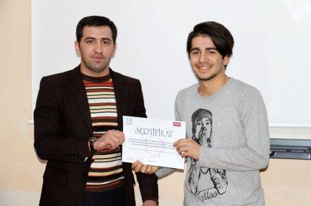 """Azərbaycan Turizm və Menecment Universitetində """"Turizmdə 5 ulduz"""" layihəsi həyat keçirilib."""