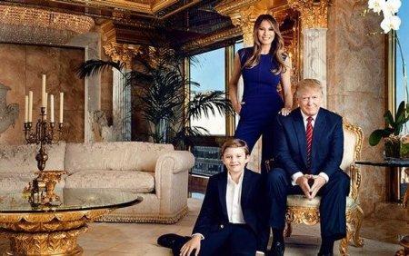 Donald Trampın yaşadığı ev - FOTO