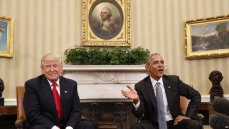Donald Tramp Barak Obama ilə görüşüb