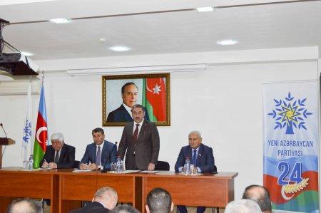 Yeni Azərbaycan Partiyasının (YAP) yaradılmasının 24-cü ildönümünə həsr olunmuş tədbir keçirilib.