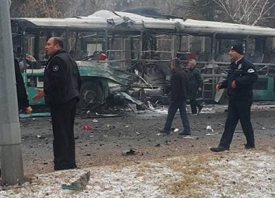 Türkiyədə 14 əsgəri terrorçu deyil, türk polisi öldürüb-VİDEO