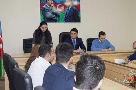"""Nərimanov rayonunda """"Gənclərin Biznes Məktəbi"""" layihəsinin açılış mərasimi keçirilib."""
