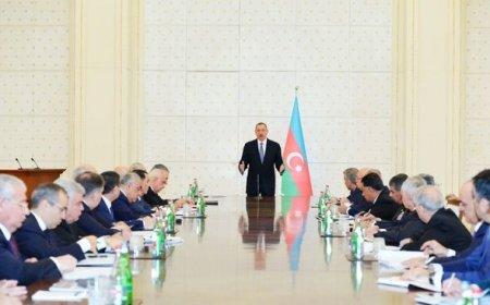 Prezident İlham Əliyevin sədrliyi ilə Nazirlər Kabinetinin iclası keçirib