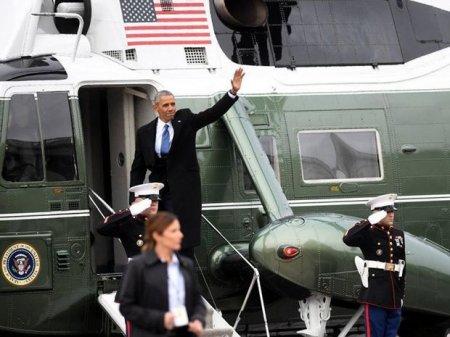 ABŞ-ın keçmiş prezidenti Barak Obama Vaşinqtonu tərk edib