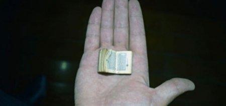 Dünyanın ən balaca quran kitabı -VİDEO