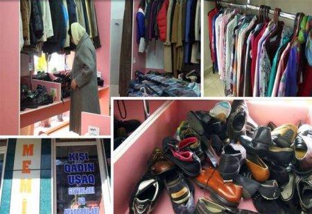 1 manata palto satılır - VİDEO