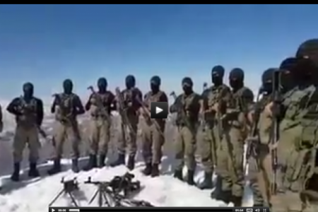 Türk Komandolarından Xocalı üçün 1 dəqiqlik sükut - VİDEO