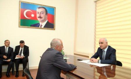 Şahin Mustafayev vətəndaşları qəbul etdi  (FOTO)